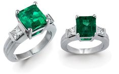 They're not my birthstone but who cares.  I love emeralds.