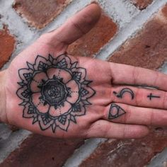 http://tattooideas247.com/wp-content/uploads/2014/09/Mandala-Palm-Tattoo.jpg Mandala Palm Tattoo #FingerTattoos, #Ink, #MandalaTattoo, #PalmTattoo, #PalmTattoos, #Symbols