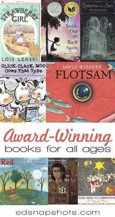 Award Winning Children's Books for All Ages