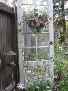 Old Shabby Door...in the garden..