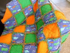 Easiest Quilt Ever! The Rag Quilt Tutorial