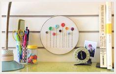 hoop art, embroidery
