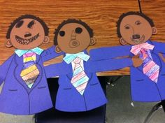 Martin Luther King Jr. craft and writing activity.