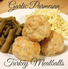 The Best of Intentions: Garlic Parmesan Turkey Meatballs