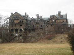 Ruins of the former Bennett College in Millbrook, NY.