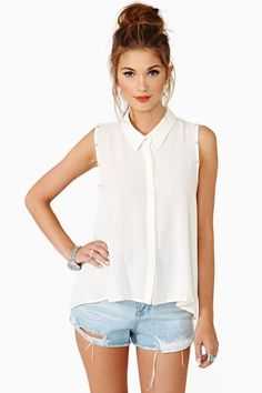 Soft Stud Blouse