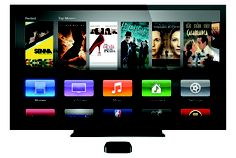 The all-new Apple TV. Apple TV has been redesigned to be small in size but big on entertainment. Rent from the largest selection of HD movies—many available the same day they come out on DVD. Watch Netflix titles instantly. Rent TV shows, commercial free in HD. And stream photos and music from your computer to your widescreen TV. Best of all, Apple TV is just $99 and available at FirstTech, 2640 Hennepin Ave, Mpls .  www.firsttech.com