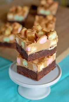 Peanut Butter Marshmallow Brownies