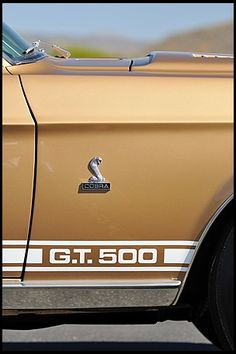 1968 Shelby GT500 Fastback 428/360 HP, Automatic