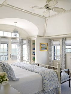 Gorgeous bedroom with a gorgeous view!