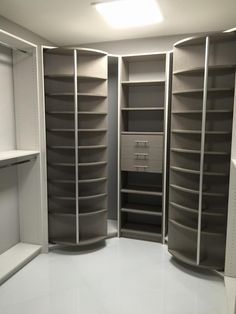 Its Just so practical and Cool!!! 360 degree spinning closet organizer, saves a lot of space.