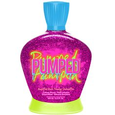 Pumped Tanning Lotion -The COLOR! Collection features Designer Skin Exclusive Dream Wear Silicone Emulsion which helps provide intense hydration while magically blurring fine lines to leave skin feeling velvety soft! Infused with real gemstones for the most sought after skin care.
