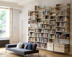 bookcases, as4 modular, modular furnitur, book nerd, home libraries, hous, atlas industri, shelv, wall unit