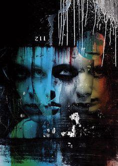 The Masquerade, set of portraits by Luís Araújo - ego-alterego.com