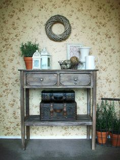 Tips on how to create vignettes in decorating.