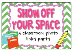 Show Off Your Space linky party