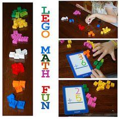 idea, kid activities, lego math, math activities, legos