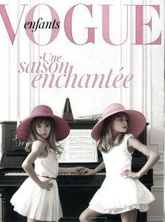 vogue enfants #french #riviera #fashion #kids #style #www.frenchriviera.com