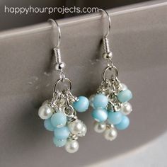 DIY Grapevine Earrings