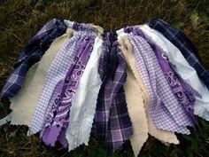 Cute scrap tutu for a camping birthday. Love the bandana fabric. #tutu #bandana