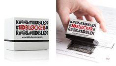 ID Blocker Stamp