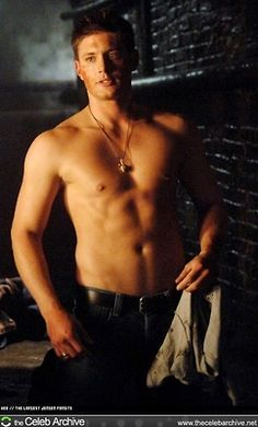 hot jensen ackles is hot  He needs to get on my level. Like for real.