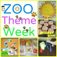 Zoo Fun (snacks, crafts, books & more)