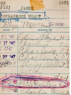 Elvis's Library Card