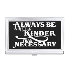 Kindness Quote Business card holder