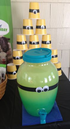 Despicable Me party drinks
