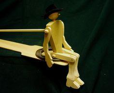 Limberjack- A Dancing Cowboy Doll. .