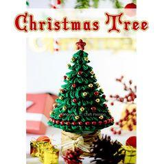 Kanzashi Christmas Tree