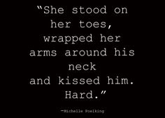 tip toe kisses