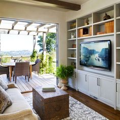 Built In Wall Unit Media Design, Pictures, Remodel, Decor