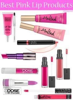 Top Ten Best Pink Lip Products