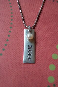 Hand stamped