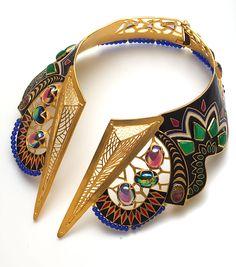 fashion weeks, jewelleri, accessori, collars, necklac, stone, manish arora, jewelri, enamels