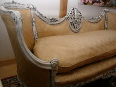 beautiful antique sofa