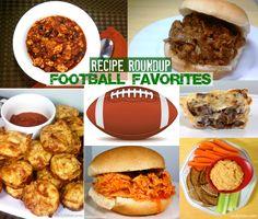 Emily Bites - Weight Watchers Friendly Recipes: Recipe Roundup: Football Favorites