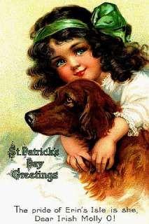 vintage st. patrick's day cards -