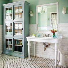 Get the Cottage Bathroom Look in 6 Simple Steps