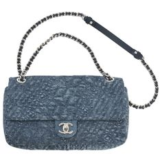 Chanel Denim Embosse