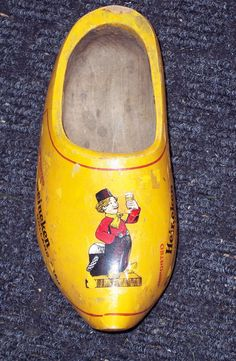 DUTCH BOY WOODEN Clog Shoe     Advertising by TheSingingTurtle, $18.00