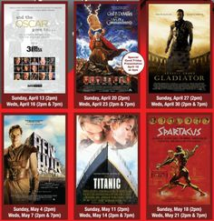 Cinemark Classic Series for 4.13.14 - 5.31.14