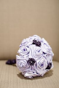 Hand Made Fabric Bouquet - Bridesmaid