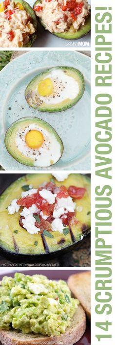 Easy and tasty avocado recipes.