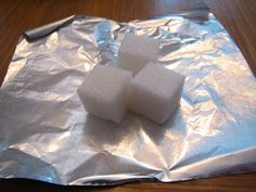 Science Matters: Rocks; sugar cube rock cycle