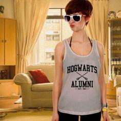 Hogwarts Alumni Tank top T shirt T shirt Girl Tank by TanktopUs, $7.80