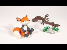 LET'S CLAY! FOX polymer clay tutorial - LISEK z modeliny - YouTube