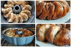 cinnamon roll recipes, almond, brown sugar, monkey bread, cinnamon rolls, breakfast, breads, sticky buns, biscuits